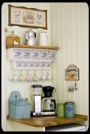 Coffee Nook Ideas 30 Kitchen Organization Tips Coffee Bar And Organizations