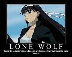 Lone Wolf Meme - lone wolf by daimyoshi on deviantart