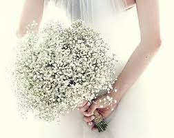 baby s breath bouquets babys breath bouquet etsy