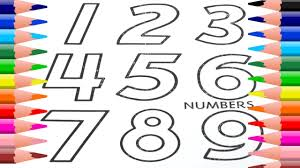 learn colors for kids with this numbers coloring page by haus toys