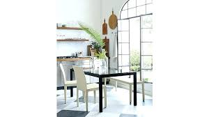 glass parsons dining table dining table with parson chairs rustic dining table and parson