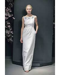 beaded gowns martha stewart weddings
