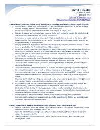 Corrections Officer Resume Blakley Security Officer Resume 2017