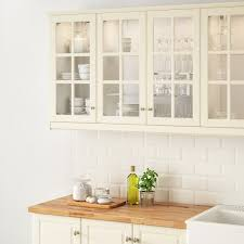 ikea kitchen wall cabinet doors bodbyn glass door white 18x30
