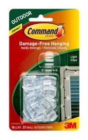 command tm outdoor light clips a damage free solution to string