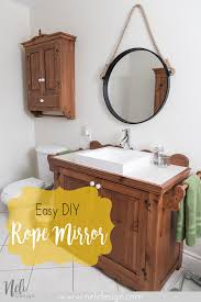 how to make a mirror the easy way nelidesign
