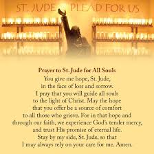 on the feast of all souls take a moment and call to mind those