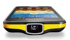 projector for android samsung debuts hd projector android phone galaxy beam more