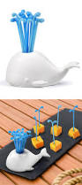 whale food pick set cute product design technews24h com
