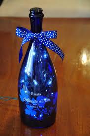 Blue Bottle Chandelier by Blue Moscato