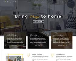 best home interior design websites interior design website themes templates free premium