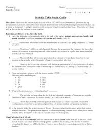periodic table activity answers uncategorized periodic table trends worksheet answers cricmag free