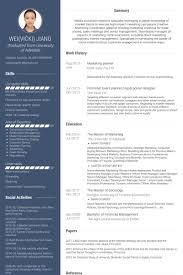 Floral Designer Resume Sample event planner resume samples visualcv resume samples database