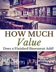 How Much Does It Cost To Pour A Basement by Does A Finished Basement Add Value To My Home