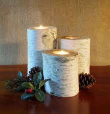 home decor birch candle holders 7