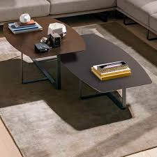 Designer Coffee Tables by Contemporary Coffee Table Metal Marble Oak Tempo Natuzzi