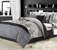 Pink And Gray Comforter Nursery Decors U0026 Furnitures Light Gray Pinch Pleat Comforter