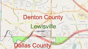 Dallas City Council District Map by Mistaken Identity County Confusion Cause Voting Problem The