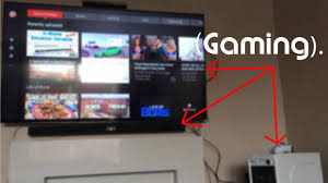 living room gaming setup update and new pc audio pickup crgr youtube