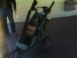 Rugged Stroller And They Shall Beat Their Jogging Strollers Into Gun Haulers