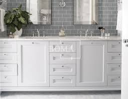 wholesale 84 in antique white 2 sink best prices on bathroom