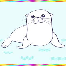 imagenes animales acuaticos para colorear cómo dibujar animales del mar tutoriales paso a paso para niños