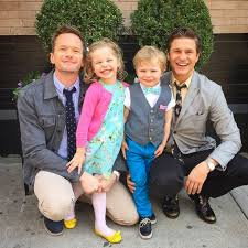 neil patrick harris and his husband cook with ina garten picture