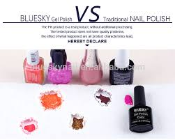bluesky 2017 new popular uv gel nail polish buy gel polish nail