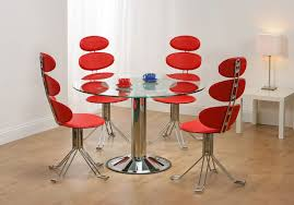 Red Dining Chair Home Design Endearing Interesting Dining Chairs Cool Home Design