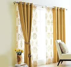 Curtains For Sliding Doors Curtains For A Sliding Glass Door Patio Doors Glamorous Patio