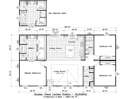 Golden West Homes Floor Plans by Gle561g 3 Bed 2 Bath 1680 Sqft Affordable Home For 94900