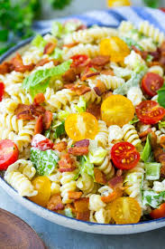 blt pasta salad dinner at the zoo