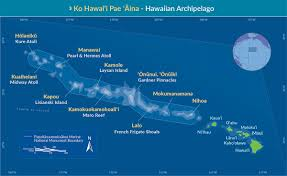 Map Of Hawaii Islands The Log Of Hagoth Hanging In Hilo On The Island Of Hawaii