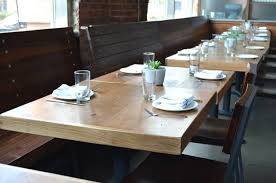 Commercial Dining Room Tables Custom Wood Furniture And Farm Tables