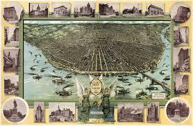 Map St Louis Graf U0027s St Louis Missouri Birdseye Map 1896