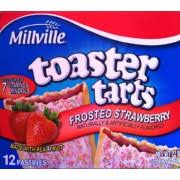 Glutino Toaster Pastry Millville Toaster Pastries Frosted Strawberry Calories