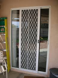 Secure Sliding Windows Decorating Security Screen Sliding Doors D85 About Remodel Stunning