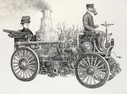 vintage cars drawings drawings by laurie lipton world u0027s national museums and art