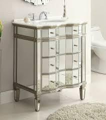 30 Inch Wide Bathroom Vanity adelina 30 inch mirrored bathroom vanity u0026 mirror