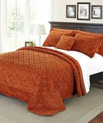 Bed In A Bag Sets Full by Comforter Ue Bedding Bedina Brown Burnt Orange Comforter Set Bed