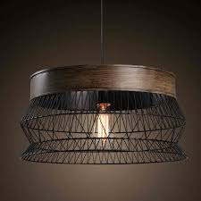 wrought iron foyer light american countryside creative style reticular wrought iron pendant