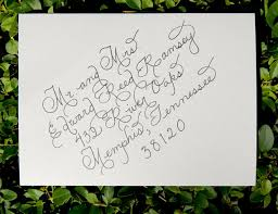 wedding invitation calligraphy custom wedding calligraphy for envelope addressing place