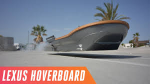 lexus for sale in derby riding the lexus hoverboard in spain youtube