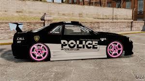 nissan skyline police car nissan skyline r34 for gta 4