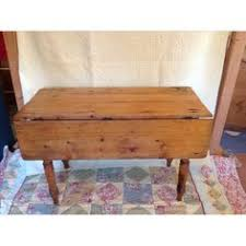 Pine Drop Leaf Table And Chairs Beautiful Vintage Pine Drop Leaf Table With Turned By Arthurandede