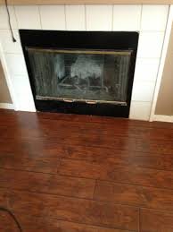Select Surfaces Laminate Flooring Canyon Oak Tile Out Flooring In Front Of Fireplace My Home Pinterest
