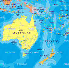 new zealand australia map deboomfotografie
