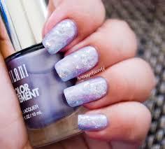 galaxy inspired nails water color look tutorial honeygirl u0027s