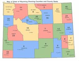wyoming state archives counties municipalities