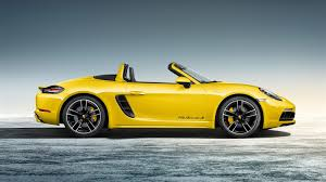gold porsche boxster porsche 718 cayman and boxster to get n a flat six 3 8 litre in